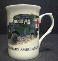1 MILITARY LAND ROVER AMBULANCE Fine Bone China Mug Cup