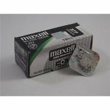 Batteria Pila MAXELL 399 orologi botton Silver Oxide SR927W Japan battery watch