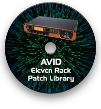 More details for avid eleven rack guitar effects pedals - sounds tone patches library 2000+ cd