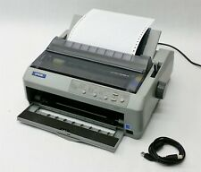 Epson LQ Series LQ-590 LQ590 USB Parallel Dot Matrix Impact Printer P363A
