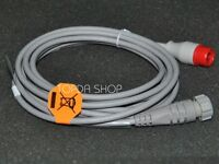 1pc NEW 12pin Invasive pressure cable For HP/PHILIPS/Mindray Monitor