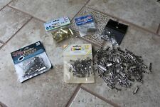 "200+ lot 3/4 1"" 1-1/2"" Nickel Plated Pinback pin Crafting silver jewelery making"