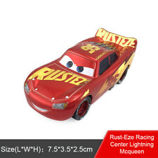 Disney Pixar Cars 3 Rust-Eze Racing Center Lightning McQueen Toy Model Car  Gift