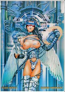 affiche offset Neuro Heaven; de Masamune Shirow 68 x 98 cm