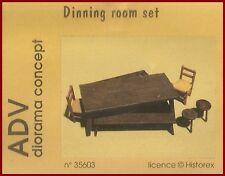 Historex Azimut ADV Dining Room Set 1/35 Model Kit