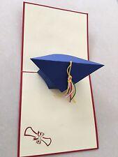 Congratulazioni laurea cappello fatto a mano carta 3d Pop Up & origami
