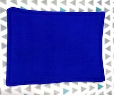 WATERPROOF Guinea Pig and small animal lap pad made by ATALAS, royal blue 13x11
