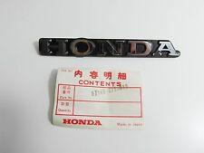 Emblem Kotflügel vorn Schild Badge / Sticker Cover front Fender Honda Accord NEU