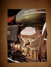MOTO GUZZI V7 SPORT PROSPEKT 1972 ITALIEN 2-ZYLINDER MOTORRAD OLDTIMER SAMMLER