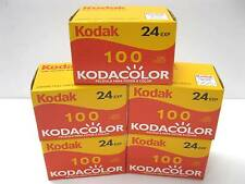 10 Rolls Kodak Kodacolor 24 exp 100 Asa Iso 35mm 135 Color Film 10/2011 Dating
