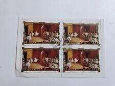 Lot timbre 3 bloc de Corée Korea 150e anniversaire de Degas peinture