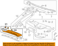 Chevrolet GM OEM 2014 Corvette Interior-Roof-Rear Trim Panel 22826721