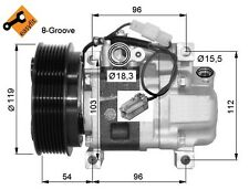 Kompressor MAZDA 3 2.2 MZR CiTD Original - EO: GDB161450 / H12A0CA4JE - Neu