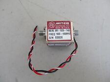 Miteq Am 1526 7452 1600 To 1900 Mhz Power Amplifier Rf Microwave Lab Ham Radio