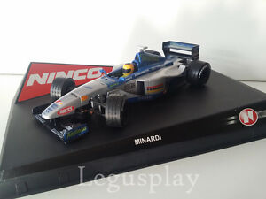 Slot scx scalextric ninco 50199 Minardi Ford Nº20