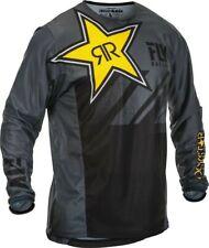 Fly Racing Kinetic Mesh Rockstar MX Offroad Jersey Gray/Black SM