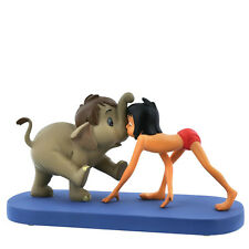 Britto- Disney - Miss Mindy - Jungle Patrol-Hathi &Mowgli  Figurine  A28789
