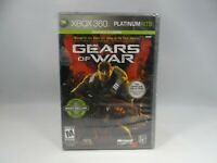 Gears of War Two-Disc Edition Platinum Hits ( Xbox 360, 2008) torn plastic