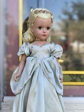 Vintage Madame ALEXANDER Cinderella 14 Inch Tagged 1950s Doll Margaret Face