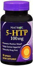 Natrol 5-HTP 100 mg Capsules 30 ea