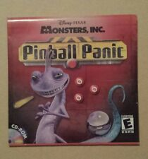 Monsters Inc Disney Pixar Pinball Panic PC CD Rom Computer Game