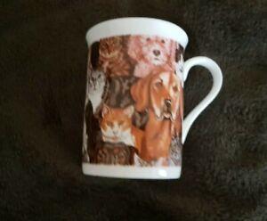 Cats & Dogs Porcelain Mug (Corgi, Lab,  Whippet) - NEW - MUST L@@K! - LAST ONE!