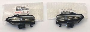 LEXUS FACTORY FRONT DRIVERS & PASSENGER MIRROR TURN SIGNAL LAMP 13-17 RC350 RCF