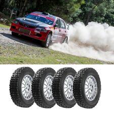 4 x 165/70 R14 MAXCROSS Gravel Rally Sport Rallying Car Tyres - Medium Compound