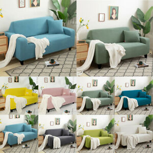 1/2/3/4 Seater High Quality Elastic Soft Sofa Couch Stretch Slipcover Protector