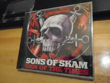SEALED RARE OOP Sons Of Skam CD Sign of the Times MADBALL Skarhead NY HARDCORE !