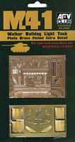 AFV Club 1/35 AG35008 Photo Brass Etched Extra Detail for US M41 Walker Bulldog