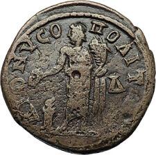 SEVERUS ALEXANDER Authentic Ancient DIONYSOPOLIS Roman Coin w GREAT GOD i71088