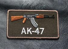 AK-47 FIREARMS 2nd Amendment GUN TACTICAL SWAT MORALE AK 47 PATCH