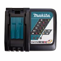 GENUINE MAKITA ! BRAND NEW ! DC18RC 7.2V - 18V LI-ION RAPID BATTERY CHARGER 240V
