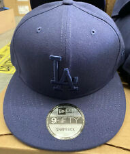 New Era 9FIFTY Los Angeles Dodgers Midnight Blue Authentic Snapback Cap Hat MLB