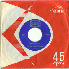 ELECTRIC JOHNNY Black Eyes Rock / Johnny on his Strings (1960 DUTCH INDOROCK 45)