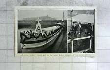 1905 Floating Church Mission Boat On The Spree, Berlin, German Empress