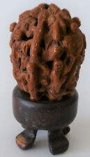 Very Beautiful and Detailed Chinese Hand Carved Walnut of Kids.