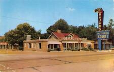 NASHVILLE, TN  Tennessee  NAJAR'S COURT & Restaurant   Roadside c1950's Postcard