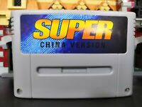 SuperED China Version SNES 700+ Games for 16 bit Game Cartridge Super everdrive