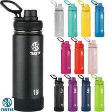 Takeya Actives Insulated Hydration Water Bottle Stainless Steel BPA Free Various