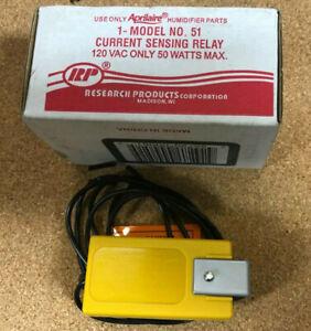 APRILAIRE HUMIDIFIER CURRENT SENSING RELAY model 51 120vac 50 watt max