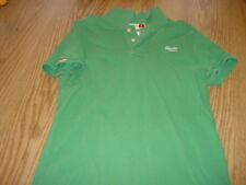 SUPERDRY JAPAN GREEN POLO SHIRT L LARGE SS SHORT SLEEVE