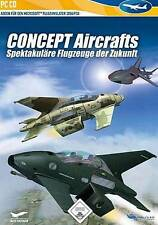 CONCEPT AIRCRAFTS Flugzeuge der Zukunft f. Microsoft Flight Simulator X 2004 Seh