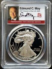 2016-W $1 American Silver Eagle PR70 PCGS FDOI ED MOY signed 1 of 300 - RARE