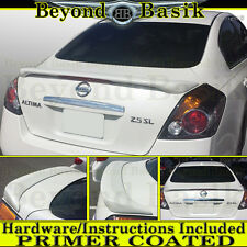 Fits 2007 08 09 2010 2011 2012 NISSAN ALTIMA Factory Style Spoiler w/LED PRIMER
