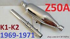 HONDA Z50A Z50 MINI TRAIL 1968 TO 1971 FRAME EXHAUST GUARD BARE METAL NEW