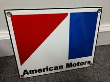 American Motors Amc gas oil gasoline Sign Amx Gremlin Pacer Javelin Rambler