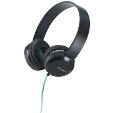 Cresyn C260H Black Stereo Headphones With Mic & Volume Control