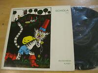 LP Schola Deutsch Musik Klasse 1 Kleine weiße Friedenstaube Vinyl 8 70 001